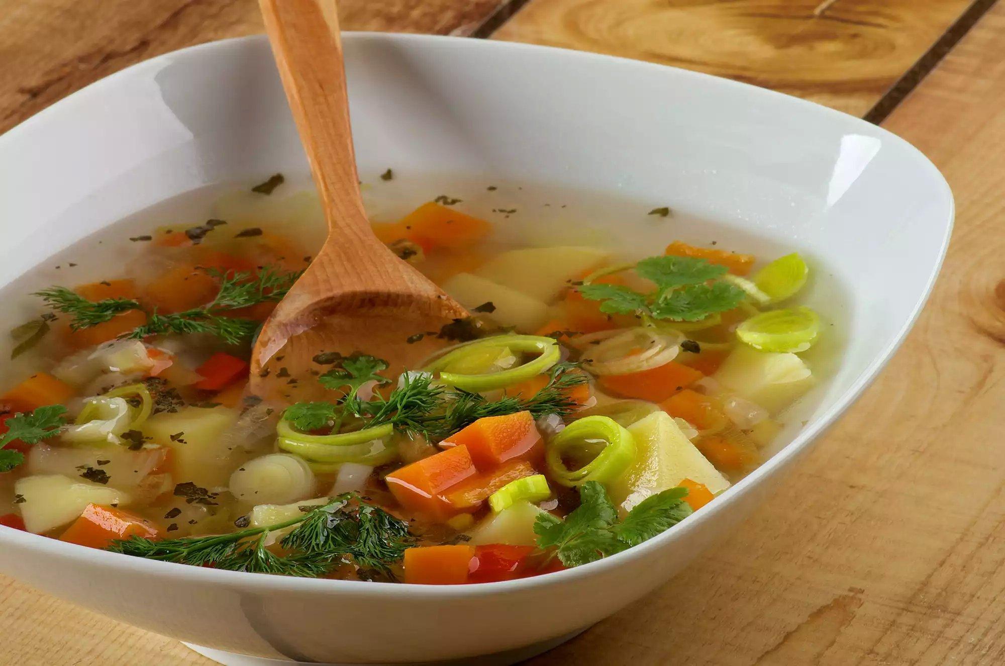 Рецепты Овощных Супов Для Диеты
