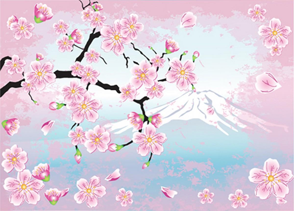 форму картинки ветвь сакуры домашних