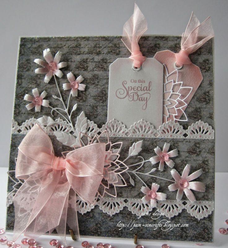 Розовая свадьба открытки своими руками