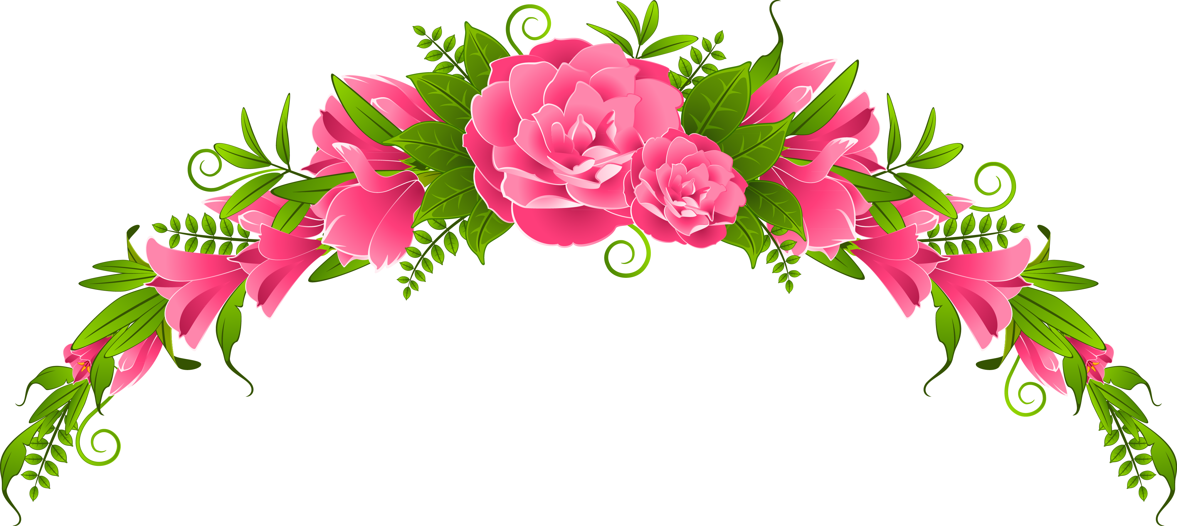 Картинки цветы для оформления, днем рождения приколами