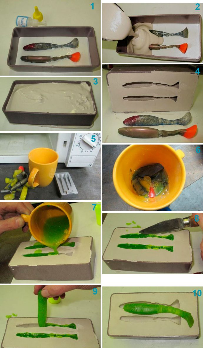 Как изготовить силикон самому
