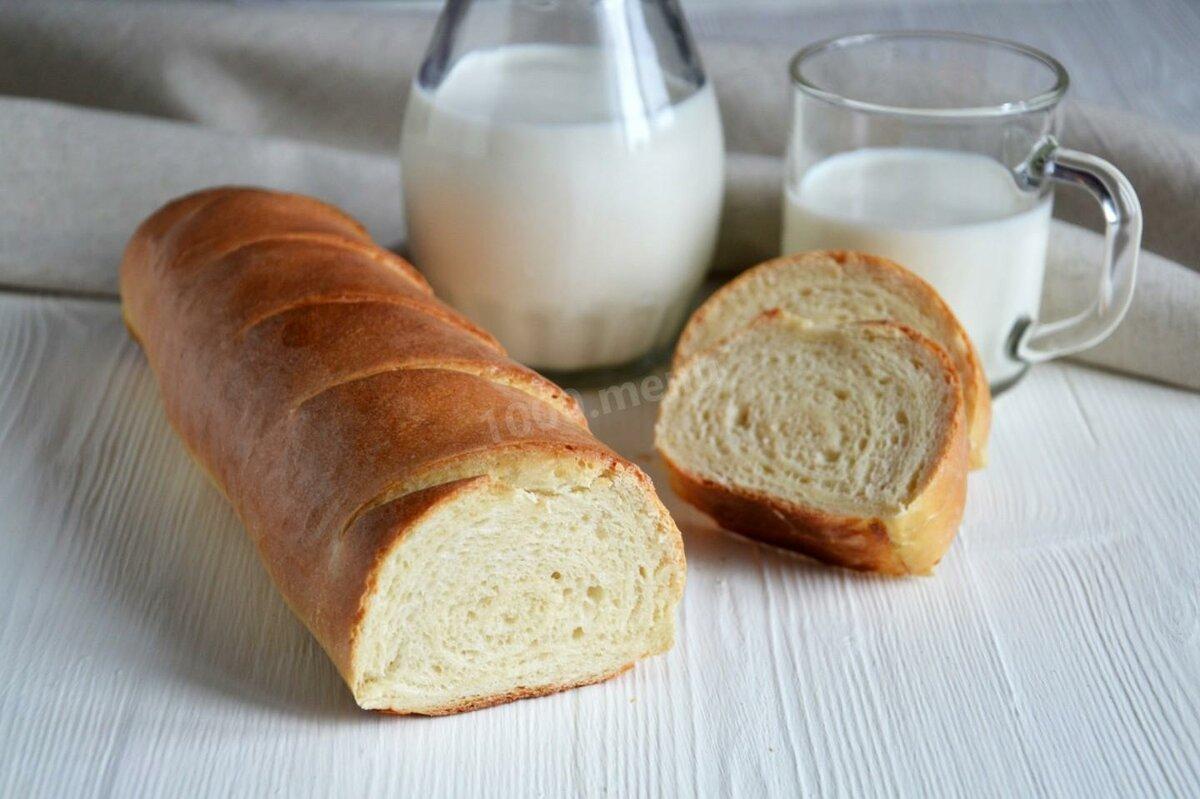 Картинка батона хлеба