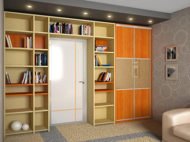 восходящего солнца, дверь посередине комнаты фото этой книги