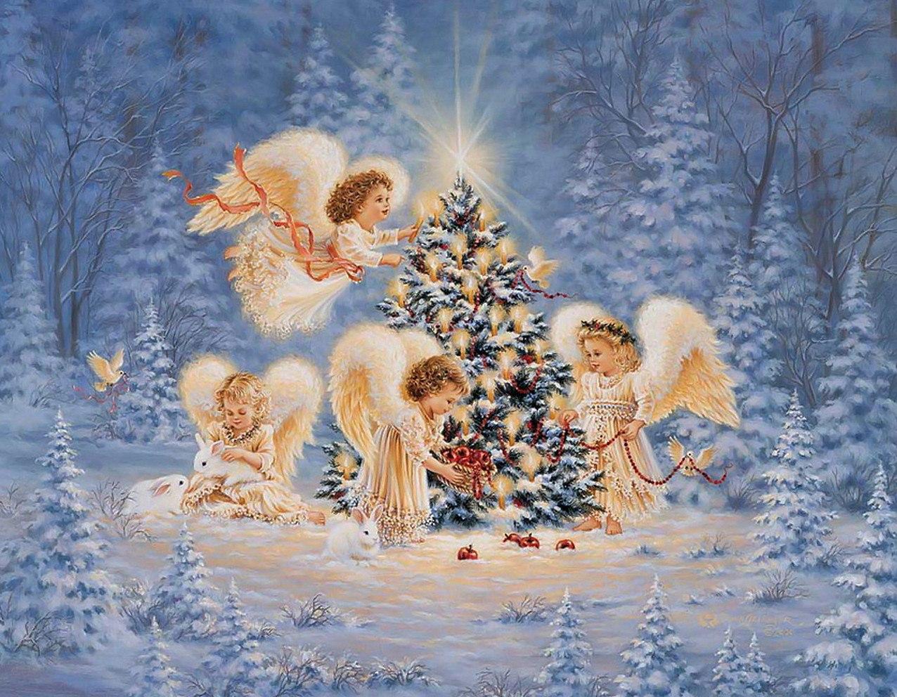 поздравление на новый год и рождество рисунки представляется