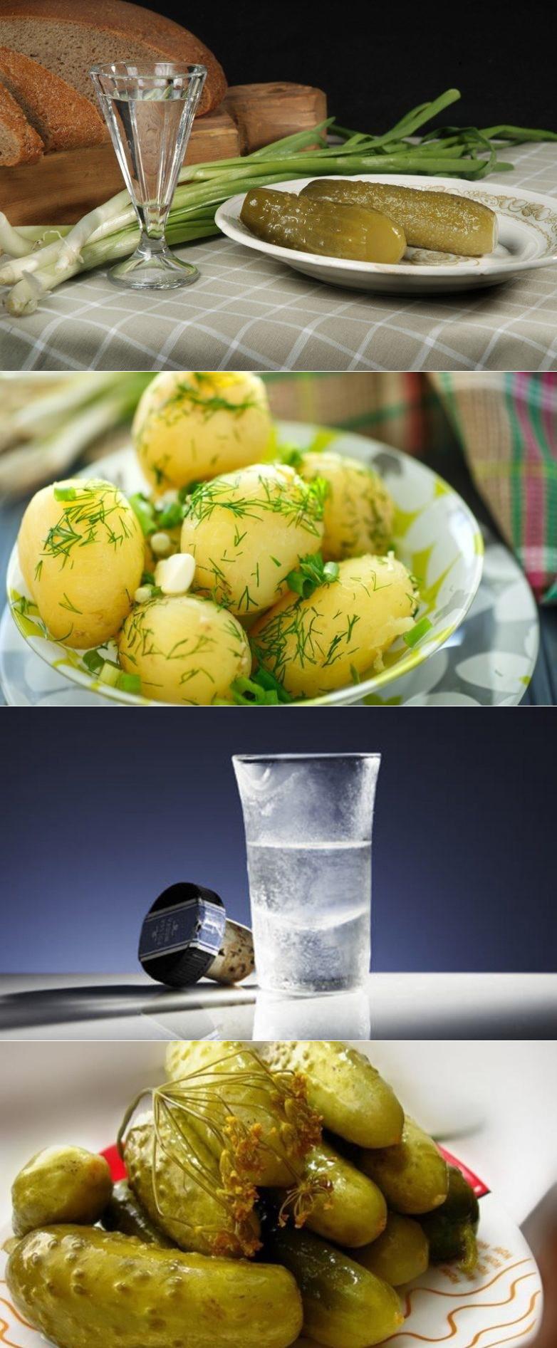 Чем закусывать водку