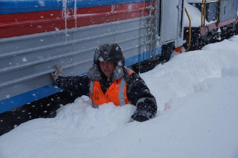 Работа в зимнее время картинки