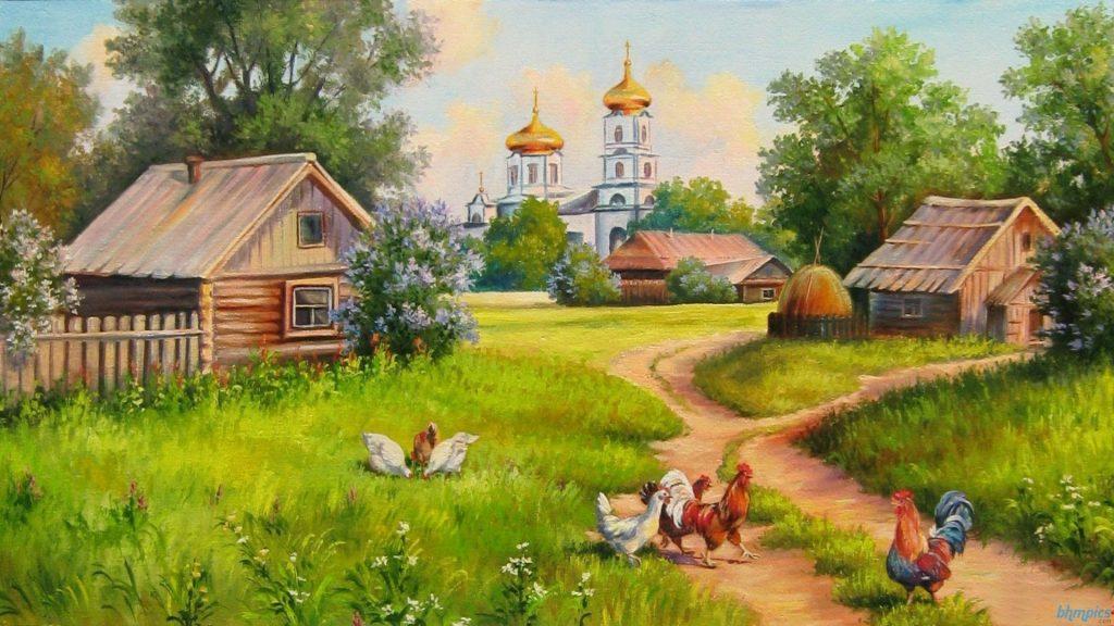 Для двух, деревня картинки красивые