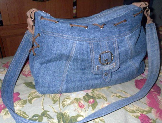138ede488173 Шьем джинсовую сумку сами. Идеи. | ШИТЬЕ; СУМКИ И АКСЕССУАРЫ | Постила