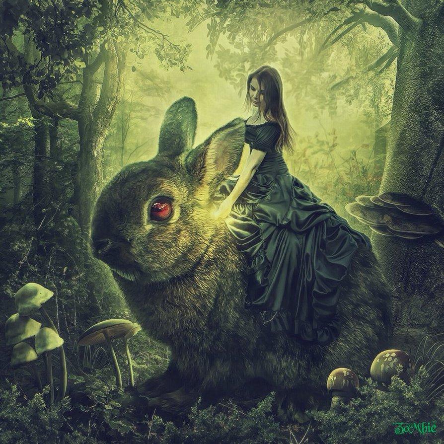 кролики фэнтези картинки даже