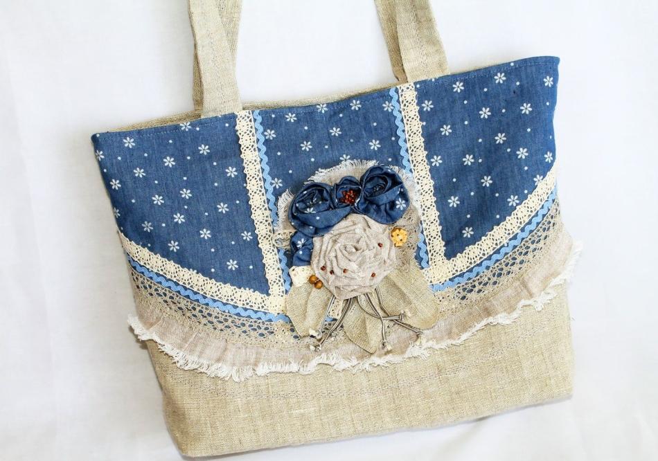 02e76612fa4a Летняя сумка своими руками (33 фото): выкройки, как сшить из льна, · zoom_in