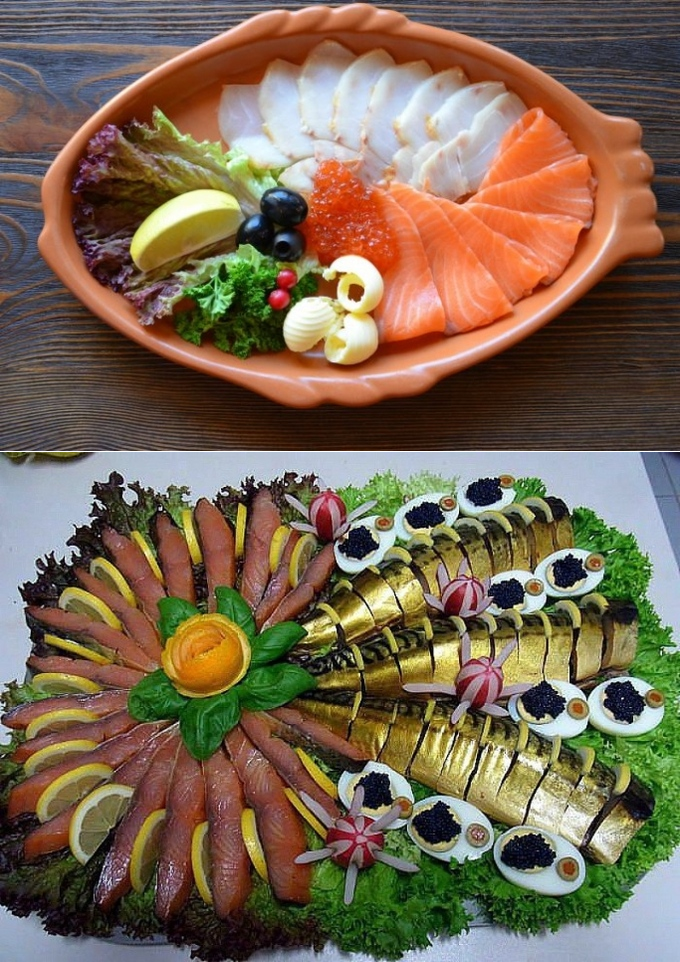 Красивые блюда оформление в картинках