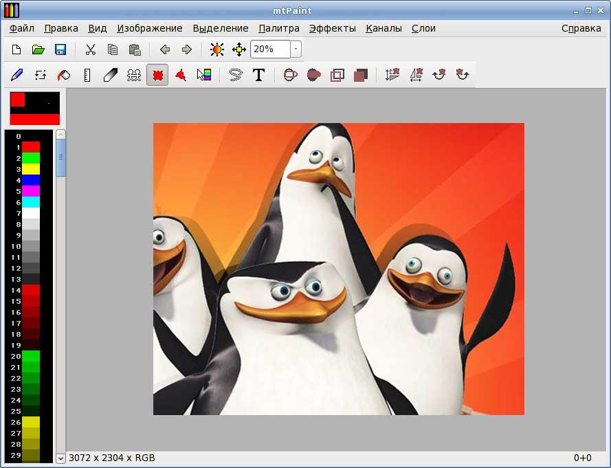 отварить картинка графический редактор модель для съемки