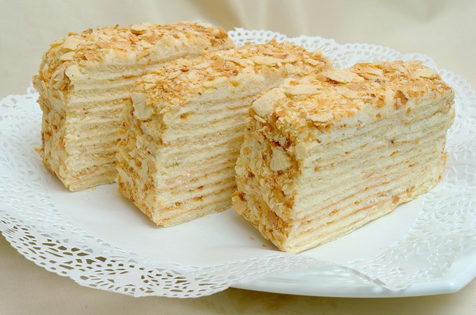 торт рецепт с фото наполеон