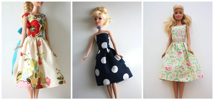 Как сделать платье для куклы для начинающих