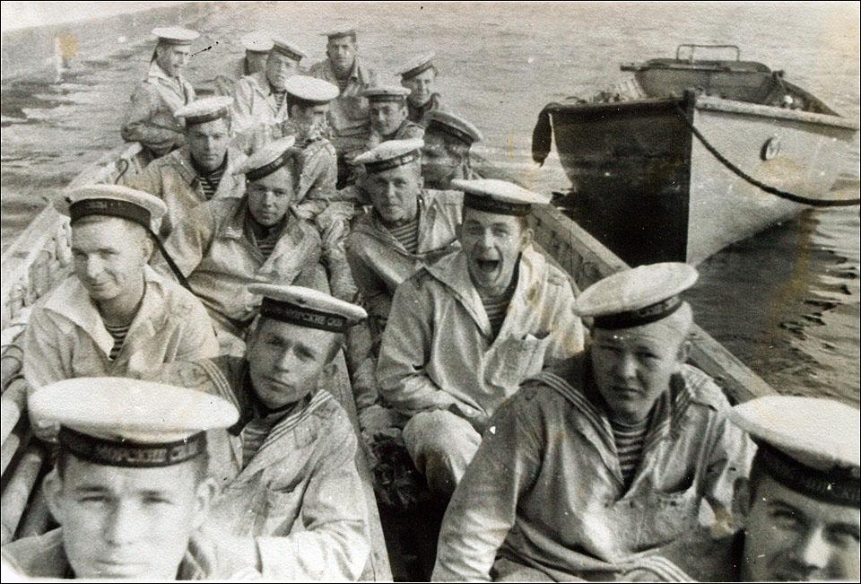 старые фото моряков муже елены темниковой