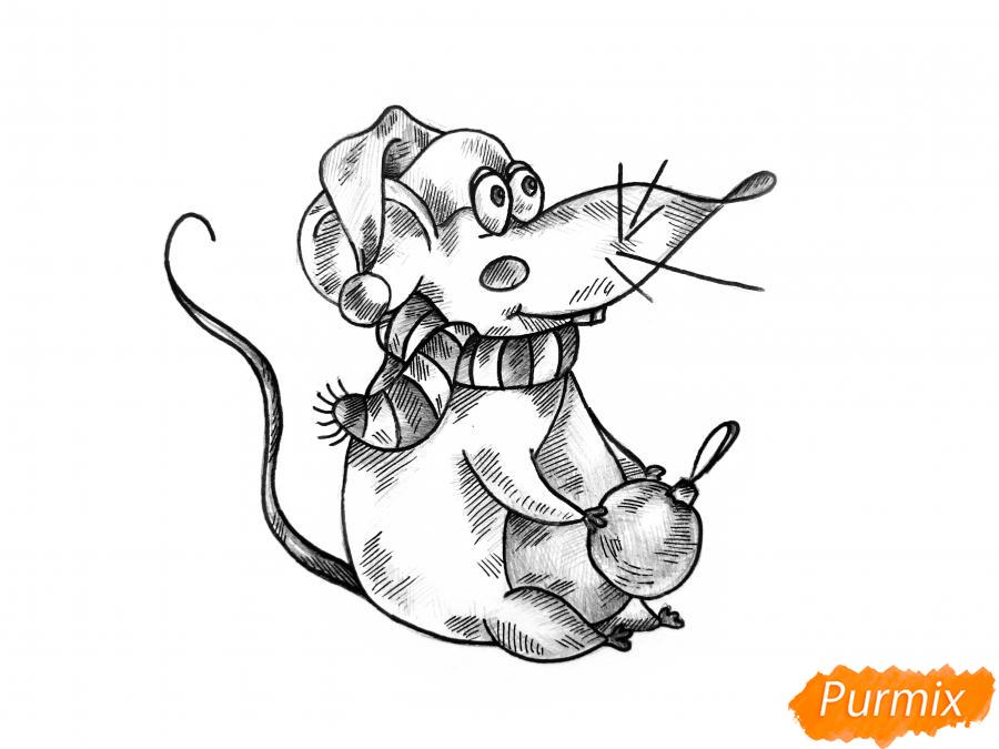 Картинки крыс на новый год рисовать