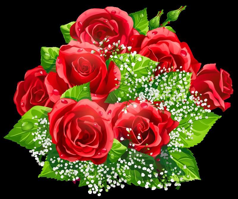 Анимационные открытки цветы букеты
