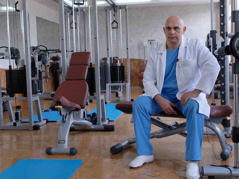 Центр кинезотерапии бубновского суставная гимнастика болит локоть артрит