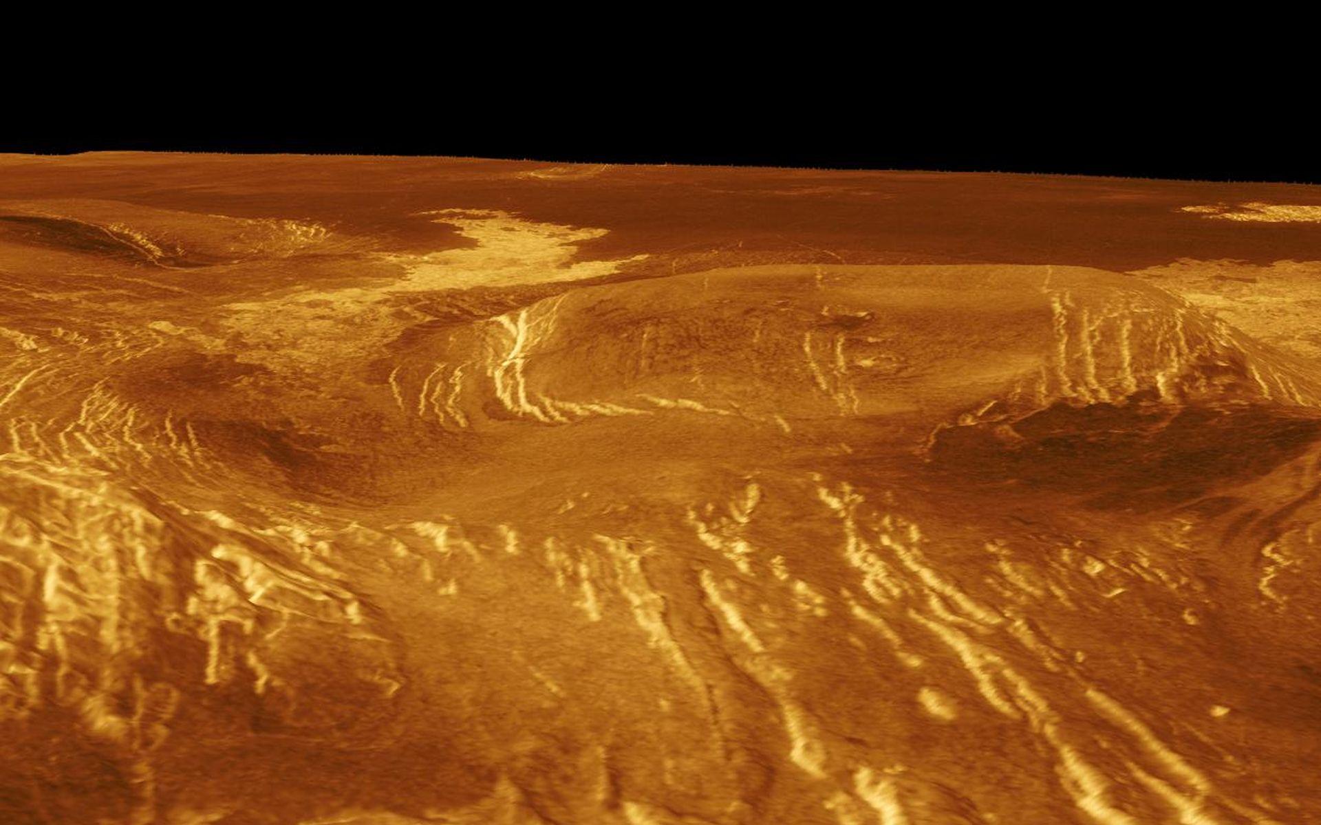 Фотография планеты венера