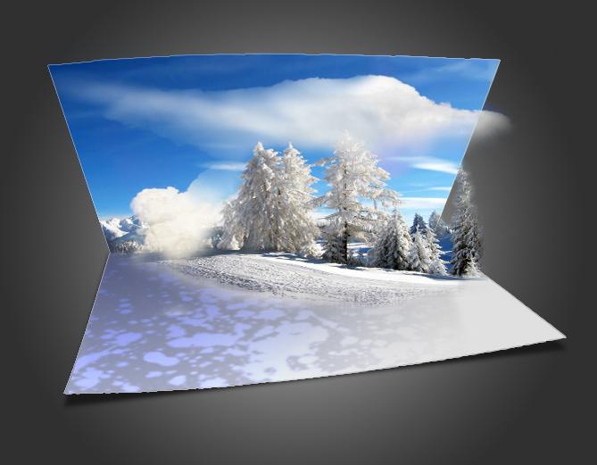 Как сделать новогодние открытки в фотошопе, худ сазонова