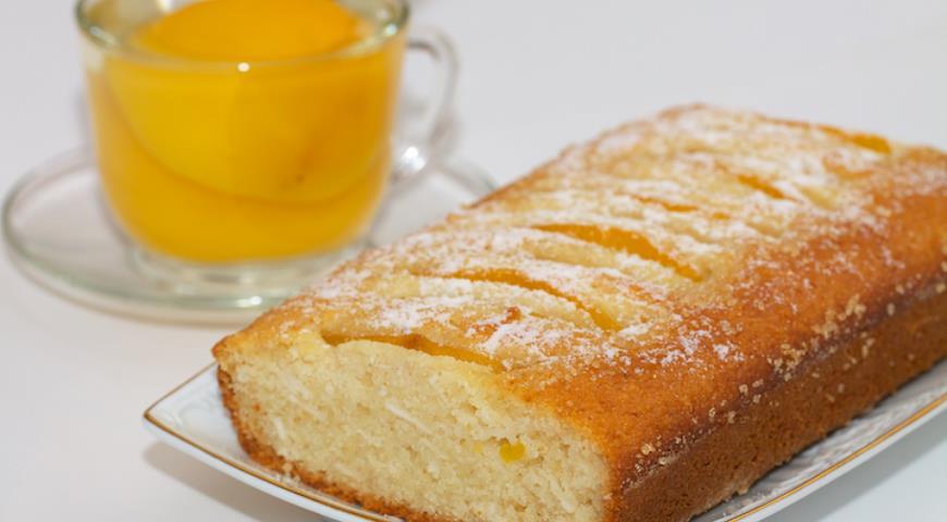 постный манник персиковый рецепт с фото пропустите