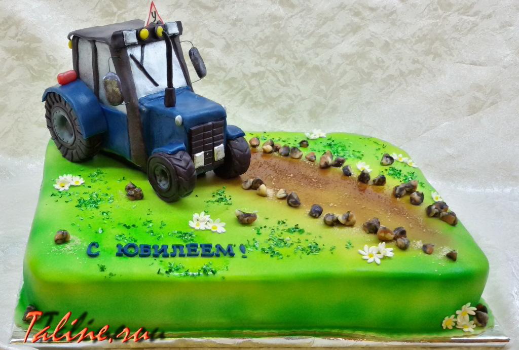 Поздравительная открытка с трактором, картинки детьми