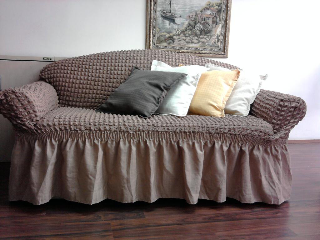 Чехол для дивана на резинке своими руками фото фото 964