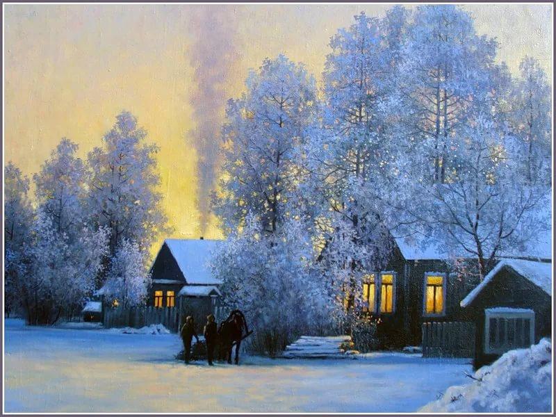 Картинки зимы с надписями о родном доме, муза винкс