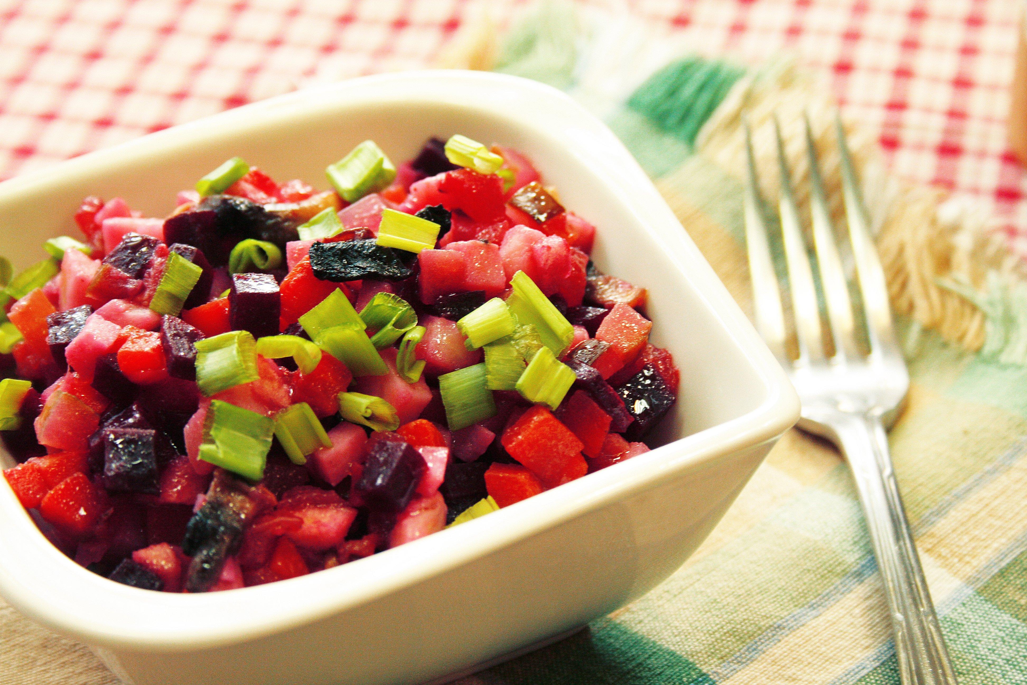 решила салат из вареных овощей рецепт с фото зарядки для телефона