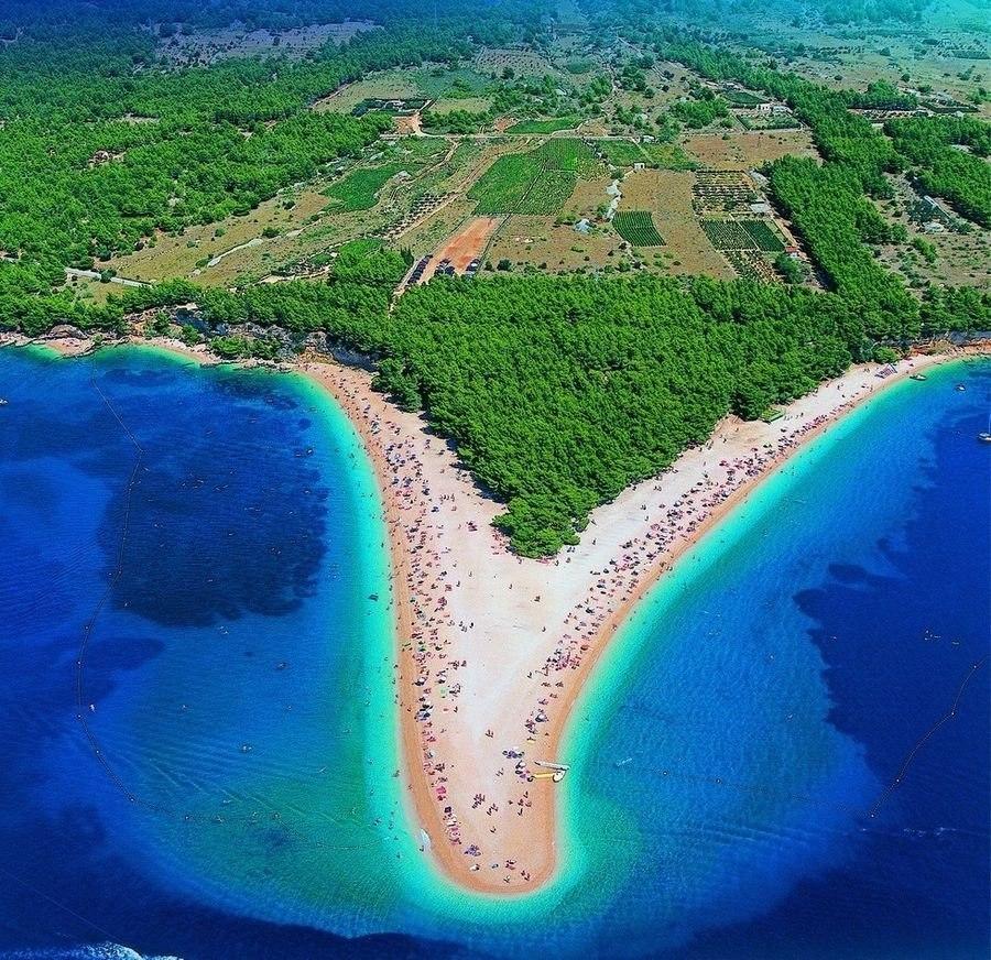 говоря, пляж золотой рог в хорватии фото атмосфера праздника, тепло