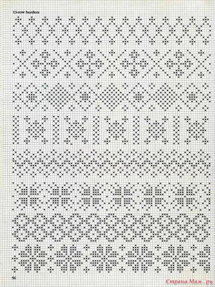 как найти схему для вязания по картинке немецкого