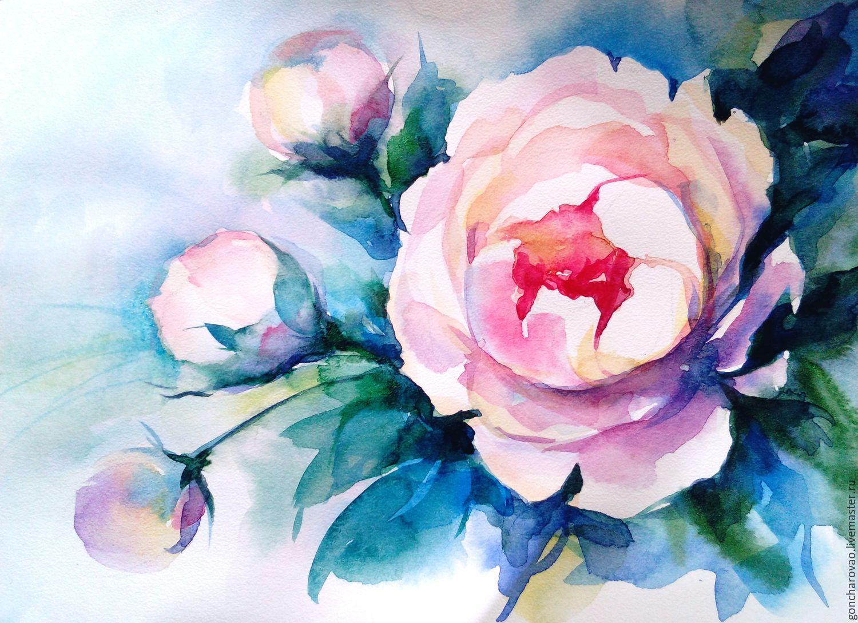 акварельные цветы картинки вам моменты радости