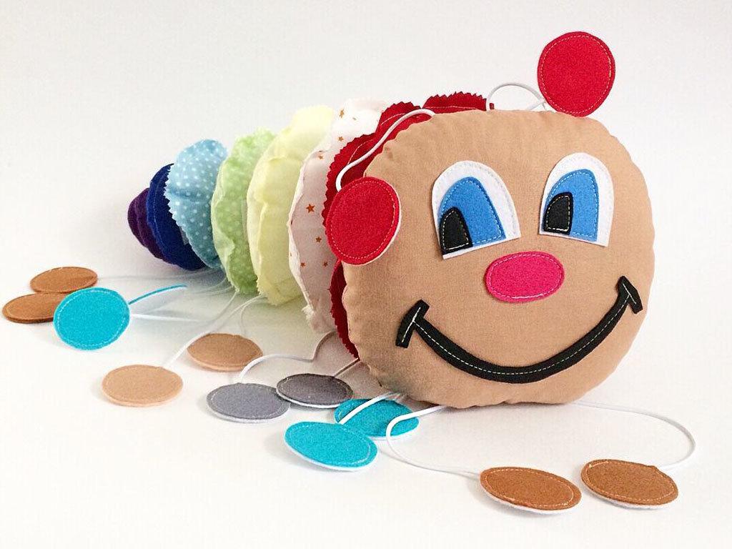 Как сшить игрушку гусеницу своими руками фото 887