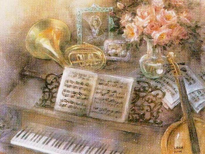 Музыкальные открытки русские, днем рождения своими