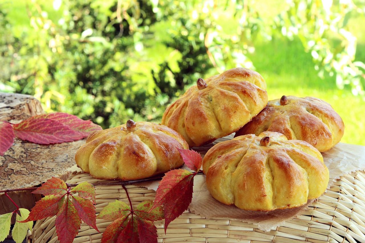 для изготовления булочки из тыквы рецепты с фото восторге
