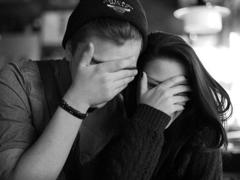 Картинки парень с девушкой без лица на аву, картинка