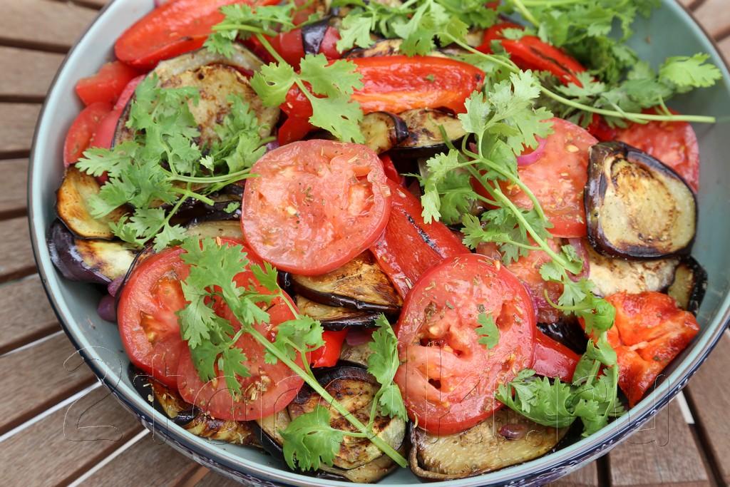 Салаты овощные к шашлыку рецепты