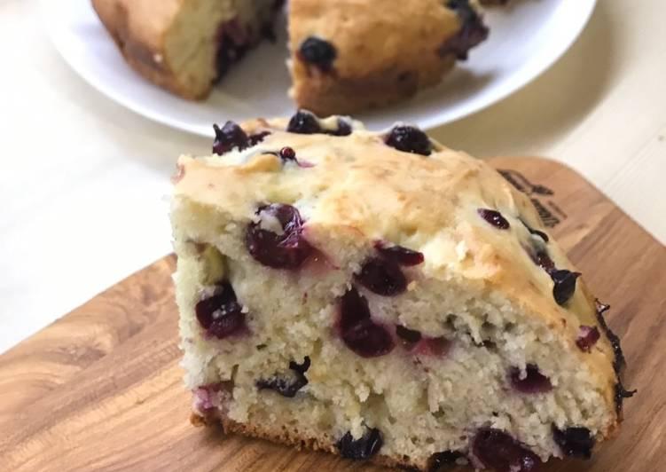 Маковый пирог с ягодами - кулинарный пошаговый рецепт с фото на KitchenMag.ru