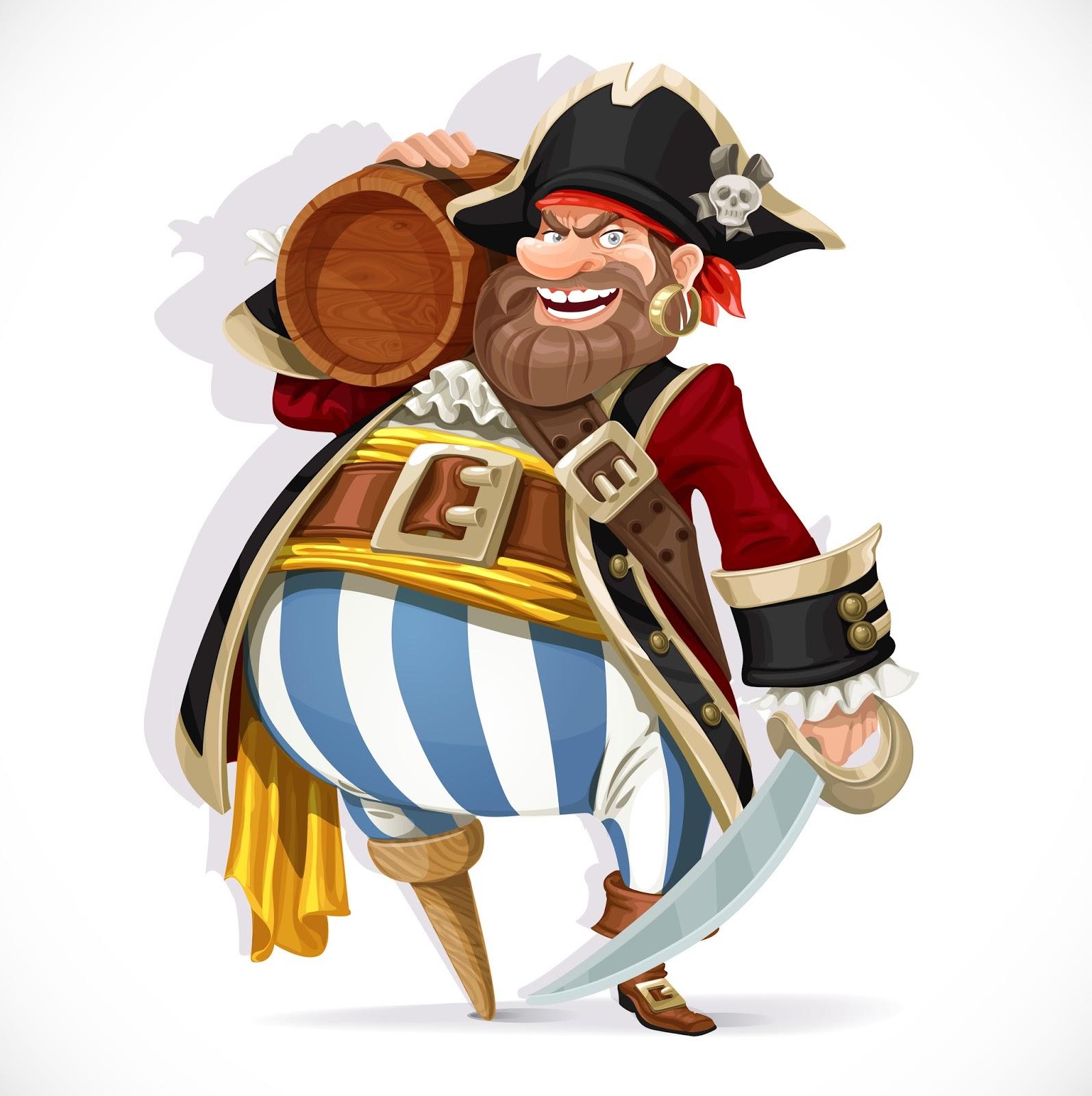 Пират с пивом картинки