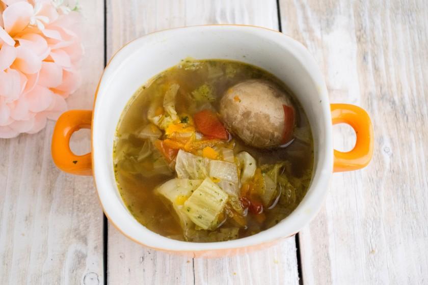 суп с шампиньонами диетический рецепт