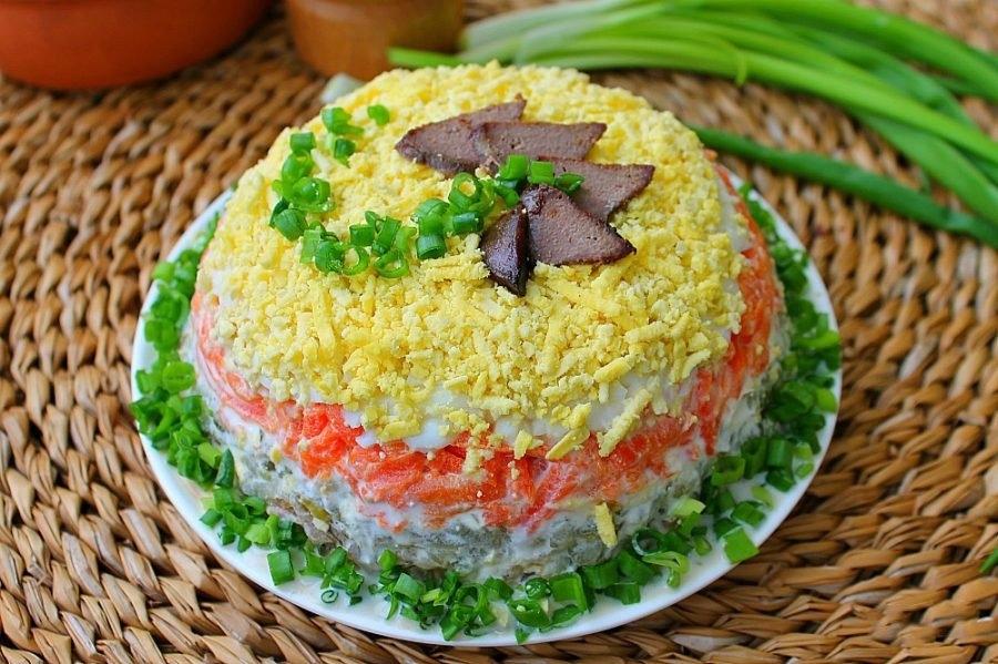 несложные салаты рецепты с фото многолетнее травянистое раннецветущее