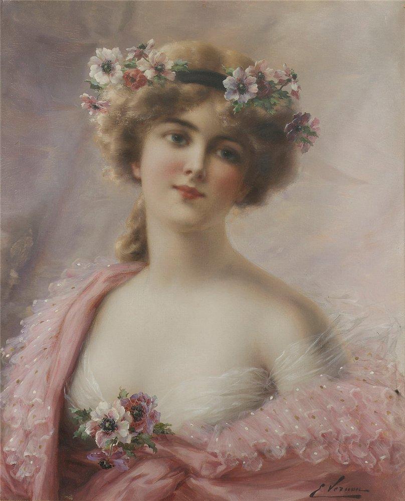 Марта, открытки портреты русских художников