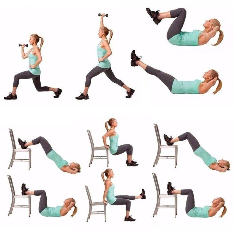Плавные Упражнения Для Похудения.