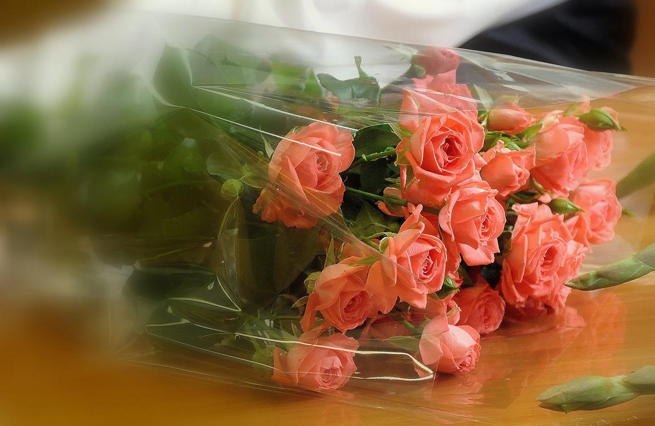 Открытка букетик для тебя за красоту твоей души