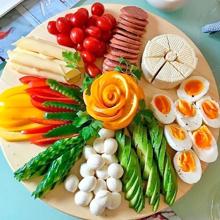Картинки украшенные блюда