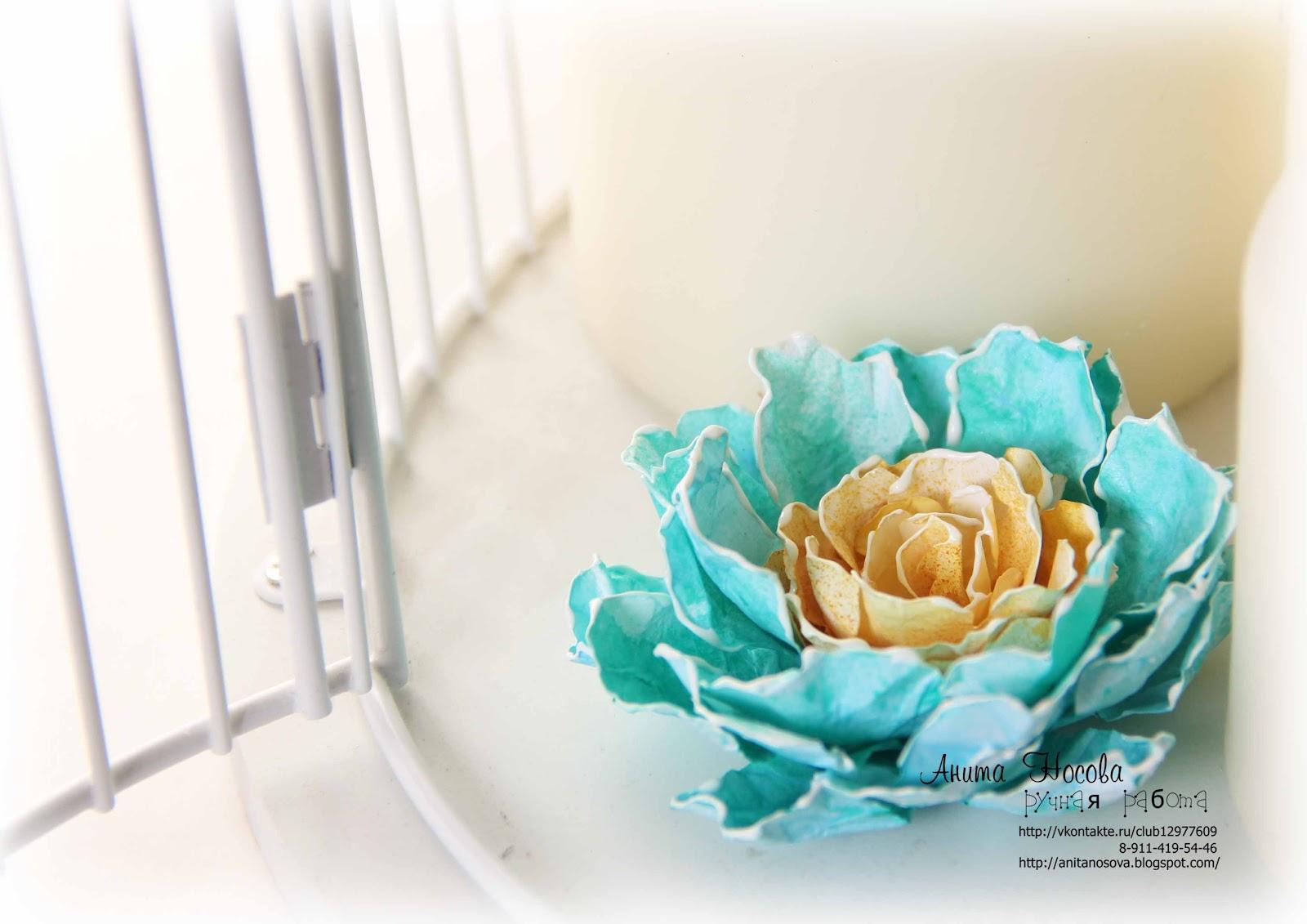 Как сделать цветы из бумаги мастер класс фото 338