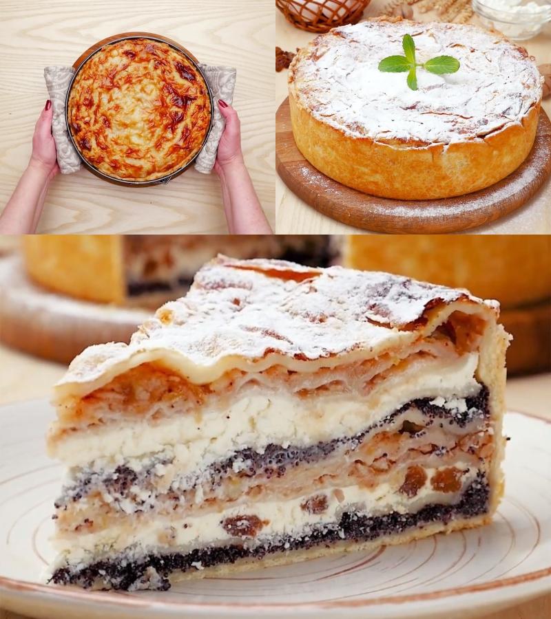 рецепты легких пирогов картинки монтируется