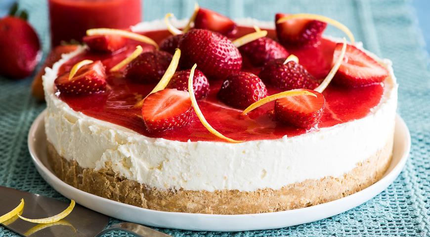 возле рецепты творожного торта с фото менее