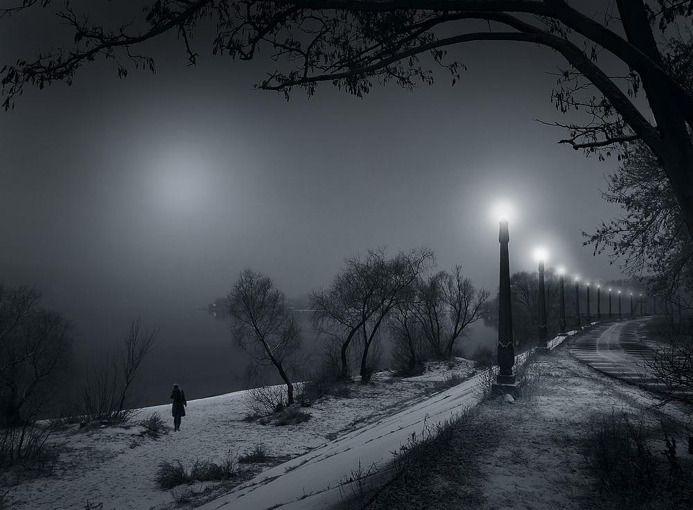 Фото зима тоска