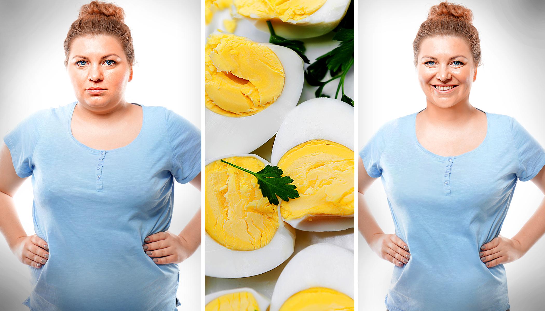 Диета на яйцах 10 дней